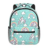 girl backpack Cartoon Character Backpack School Bags Casual Sports Bag Waterproof Travel Teens Laptop Backpack 11x12inch