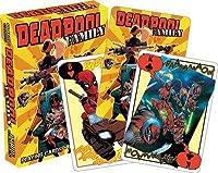 MARVEL マーベル Deadpool Family トランプ カードゲーム 輸入品 9×6cm