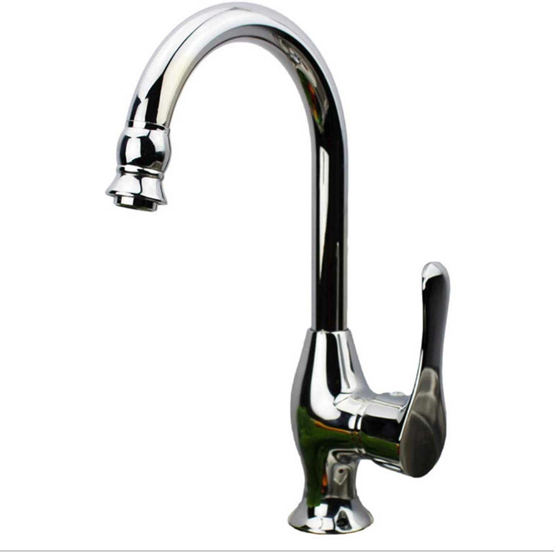 Xiujie Faucet Single Handle redatable Copper Sink Faucet Kitchen Faucet Hot and Cold Dish Faucet