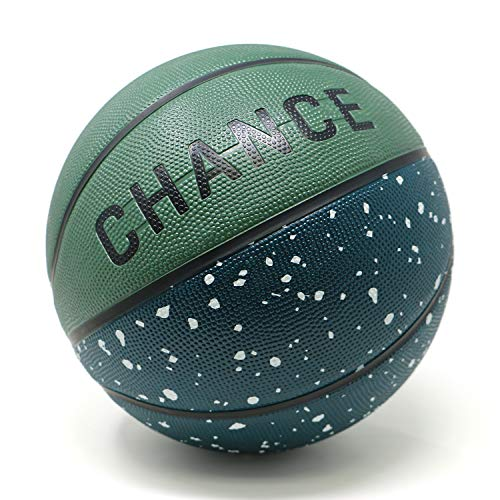 Fantastic Deal! Chance Premium Rubber Outdoor/Indoor Basketball (Size 5 Kids & Youth, 6 WNBA Womens,...