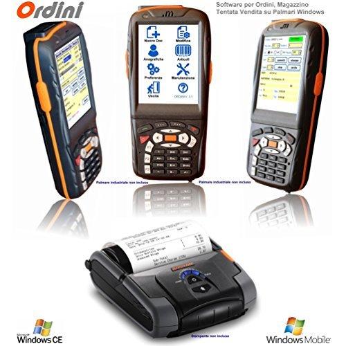 ORDINI, Software programma di Tentata Vendita, presa ordini, inventario, magazzino, per Palmari Windows Mobile, Windows CE, Pocket PC