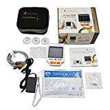 Heal Force 3 Channels Color PC 180D Easy Handhel Portable Device with US Mains Adaptor Lead cables And 50pcs Replace Pads