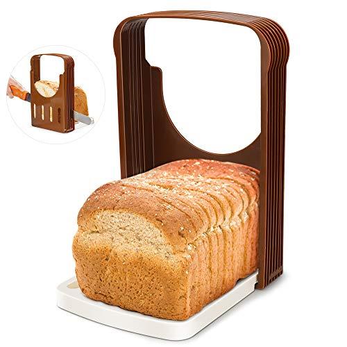 Brotschneidemaschine - Loaf Slicer Toast Schneideanleitung Brot Toast Slicer Cutter Form Sandwich Maker Toast Schneidemaschine