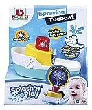 Toysmith Splash 'n Play Spraying Tugboat Bath Toy