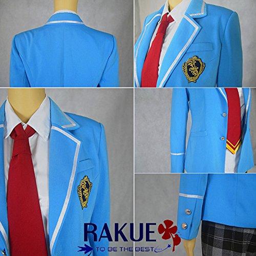 『あんさんぶるスターズ! 夢ノ咲学院 男子制服 コスプレ衣装 ネクタイ3色セット XL,女性』の3枚目の画像