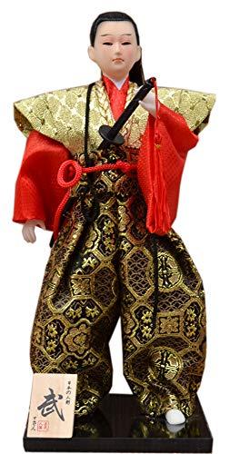 Wukong Direct Samurai Japonés Figuras Artesanías Muñeca humanoide Decoración para la Oficina en casa Regalo # 6