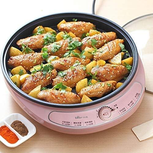 Pot CCR 2 PCS pan cuisson électrodomestiques gâteau machine poêlé barbecue Pancake Pan (Rose) Ustensiles de cuisine (Color : Pink) Pink
