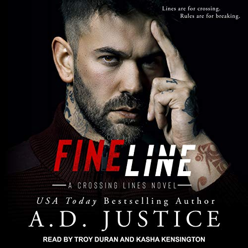 Fine Line Audiobook By A.D. Justice cover art