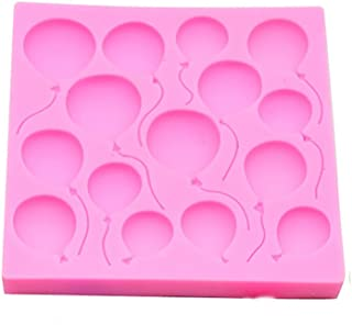 Candy & Chocolate Cake Molds,Silicone Balloons Fondant Cake Chocolate Decorating Mold Baking Tools
