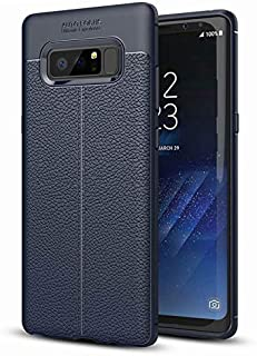 Blue Phone Case for Samsung Galaxy Note 8, Shock Absorption Air Cushion Technology Drop Protection Phone Cover for Samsung...