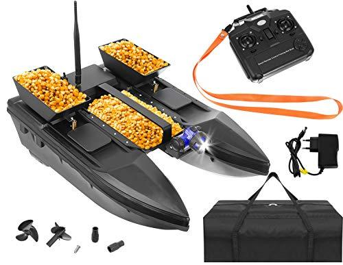 ISO TRADE Ferngesteuertes Boot Fischköder Boot 1-2 kg Beladung 300-500m Fernbedienung 9775, Größe:2000g