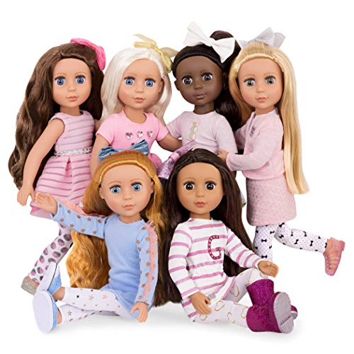 Glitter Girls Dolls by Battat - 14-inch Posable Fashion Doll Sarinia - Long Brown Hair & Brown Eyes with Bendable Arms & Legs - Toys, Clothes, and Accessories for Kids Ages 3 & Up
