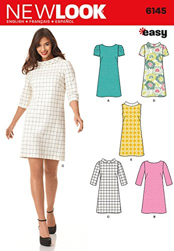 New Look Easy Sewing Schnittmuster Kleid, 6145