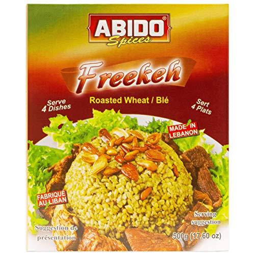 Abido - Freekeh gerösteter grüner Weizen in 500 g Packung