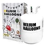 ヘリウムガス 風船 400リットル Wout 快適空間 パーティー クリスマス 誕生日 birthday お祝い 結婚 wedding バルーン 風船用 業務用 大容量 (ホワイト400L)