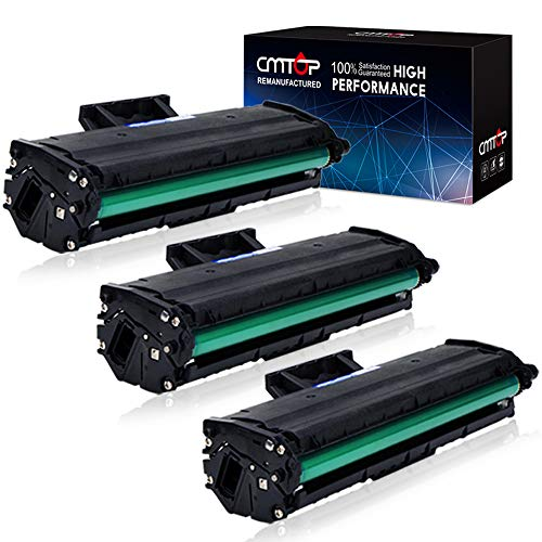 CMTOP MLT-D101S Toner Replacement for Samsung 101S MLTD101S MLT-D101S MLT-D101L Toner Cartridges, 3 Black, High Yield, Compatible with Samsung ML-2165W SCX-3405W SCX-3405FW ML-2165 SF-760P Printer