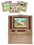 Sylvanian Families 4264 Deluxe TV Set, Mehrfarbig