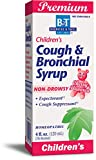 Boericke & Tafel Children's Cough & Bronchial Syrup, Cough Suppressant & Expectorant, Non-Drowsy, Homeopathic, Cherry Flavor, 4 Ounce
