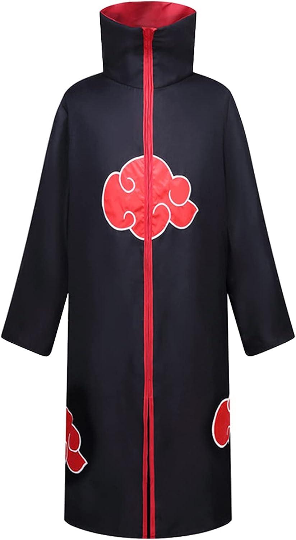 Unisex Long Robe Halloween Costume Super special price depot Uniform Rob Cloak Ninja Black
