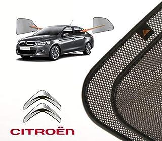 2012- Element EXP.CARCRN10041 3D Alfombrillas Interior de Coche a Medida TPE Citroen C-Elysee 4 pcs Negro