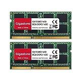 Gigastone ノートPC用メモリDDR3-1600MHz 16GB (8GBx2枚) PC3-12800 CL11 1.35V SODIMM 204 Pin Unbuffered Non ECC Memory Module Ram Upgrade 永久保証