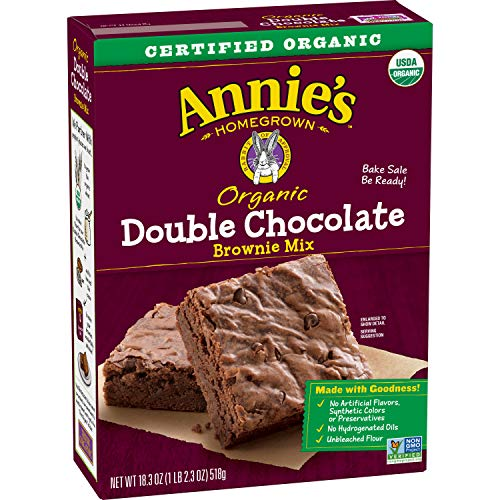 Annie's Double Chocolate Brownie Mix, 18.3 oz