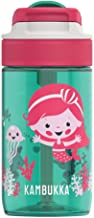 Kambukka KAM11-04014 Lagoon Leak Proof Water Bottle with Spout Lid, Ocean Mermaid, 400 ml, BPA Free Tritan