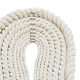 Decoraciones hechas a mano Cuerda de algodón natural...