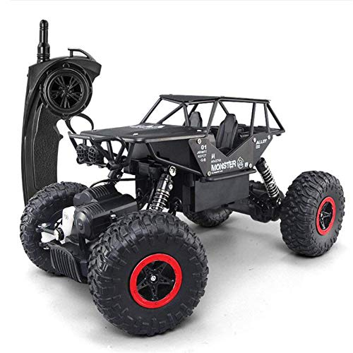 Tuptoel RC Car Alloy Rock Crawler Truck 4x4 Off Road Rock Crawler Jeep Truck for Boys 2.4GHz Radio Controlled Monster for Kids