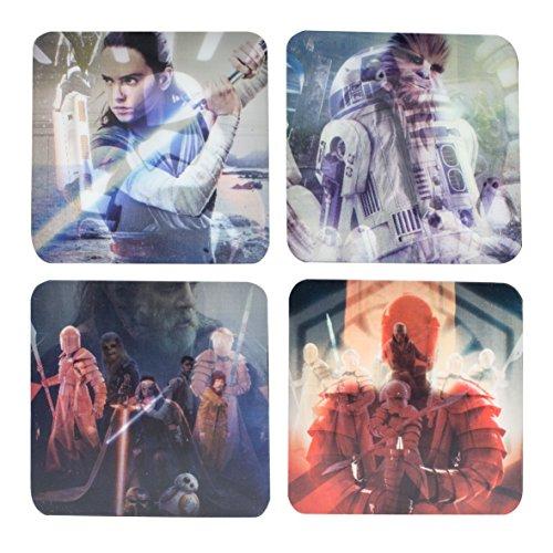 Star Wars: The Last Jedi lenticolare sottobicchieri, Multicolore