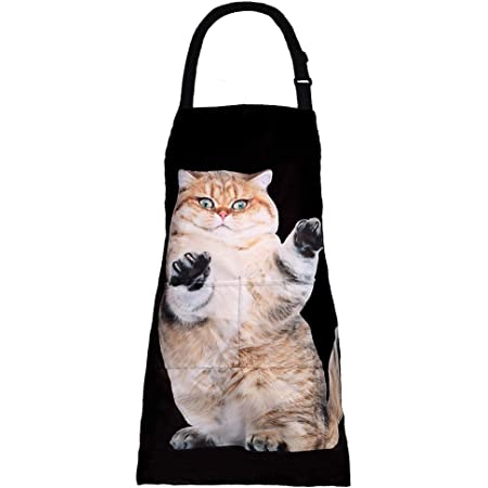Kitties on the Beach Apron Cat Lovers Gift Cat Adult Apron One Size Fits Most Cat Apron Cat Apron Gift Cat Apron