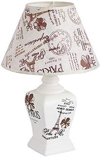 WYBFZTT-188 LED Accueil L'étude en céramique Art Moderne Tissu Abat Home Restaurant Décoration Lampe de Table