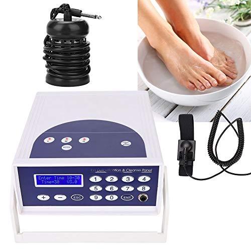 Detox Fußbadewanne,Fuß-SPA-Wanne Tragbare Fuß-SPA-Bad Anion Hydrogen Molecule Cell Detox Fußbad Spa Maschine Gesundheitswesen Gerät 220-240 V Eu-stecker