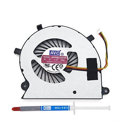 DBTLAP Laptop CPU Cooling Fan Compatible for Toshiba Satellite Radius P55W P55W-B P55W B5220 BAAA0705R5H V002 NFB68A05H Laptop Radiators