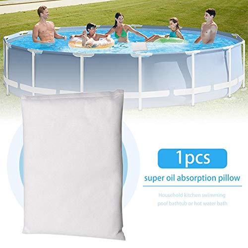 auspilybiber Ölabsorber, Ölabsorbierender Schwamm Für Whirlpools Schwimmbäder SPAs, Badewanne Super-Ölflecken-Absorptionskissen (2er-Pack) modern
