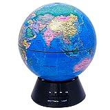 LCFF Globe umidificatori ad ultrasuoni Air depuratori Nebbia Fredda Aroma Olio Essenziale Diffusori Terra Timed Spray 300ML senz'acqua Auto off for Camera da Letto Lampada da Ufficio (Color : B)