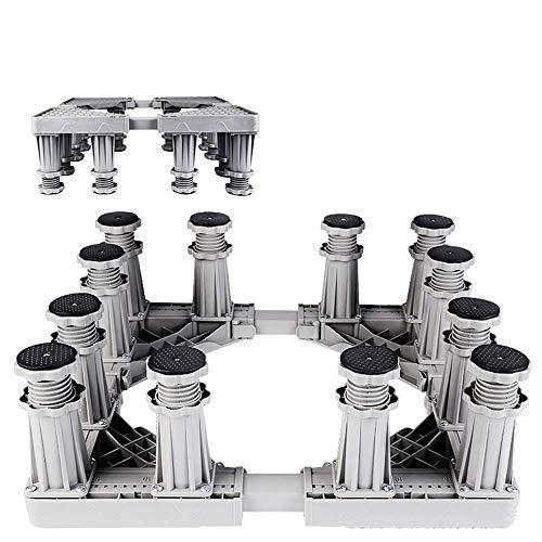 Mobile Bases Kühlschrank Einstellbare Waschmaschine Fahrwerk Halter Ständer mit Rollen Sockel Bodenwanne Dolly Waschmaschine für Panasonic (12 Fuß)