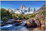 MGSHN Patagonia Südamerika Landschaft Kunst Poster