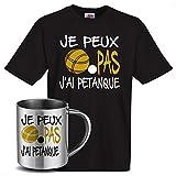 stylx design Cadeau Tshirt mug J'Ai Petanque