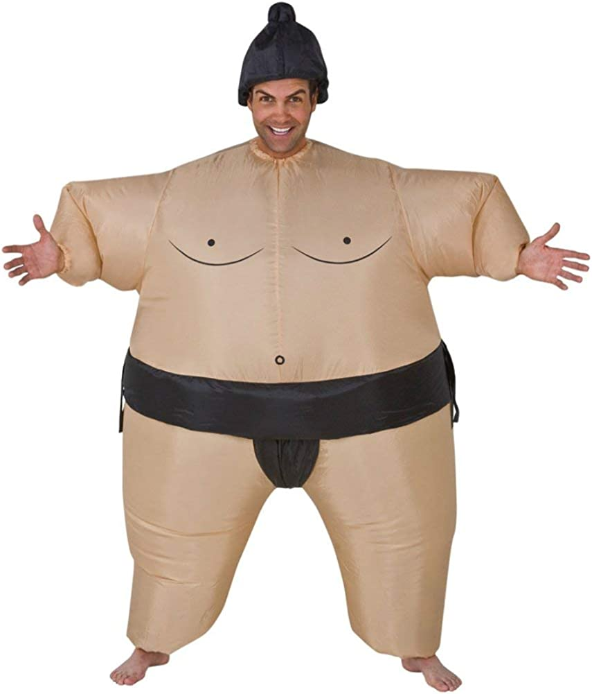 Selling and selling Sumo Inflatable Adult Costume Funny Theme Wrestler Wrestling Par SEAL limited product