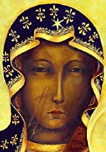 Black Madonna of Czestochowa POSTER A4/A3 Our Lady Polish Madonna print Catholic wall art religious pictures images