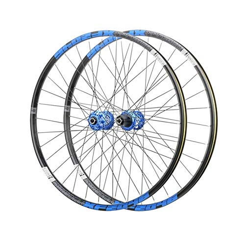 26 pulgadas de 27.5 pulgadas de 29 pulgadas de la rueda de la bicicleta de montaña QR Double Wall RIM SELLADO COVIDOR DE COVIDOR DE FRENO DE FRENO, PARA 1.7-2.4 'Neumáticos 8-12 Cassette de velocidad