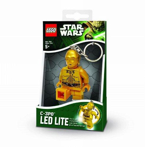 IQ Hong Kong UT20391E - Lego Star Wars - C3PO Minitaschenlampe Blister