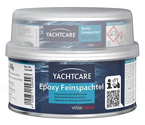Yachtcare Epoxy Feinspachtel 450g - Premium Feinspachtel Epoxidspachtel für den Über- und Unterwasserbereich