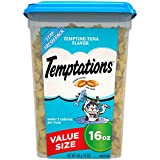 TEMPTATIONS Classic Cat Treats, Tempting Tuna Flavor, 16 oz. Tub