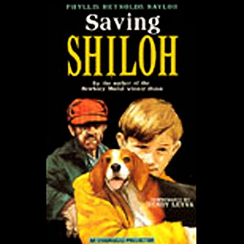 Saving Shiloh audiobook cover art