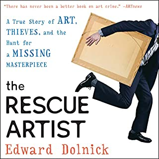 The Rescue Artist audiobook cover art