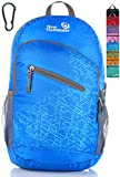 Outlander Packable Handy Lightweight Travel Hiking Backpack Daypack-Light Blue-L