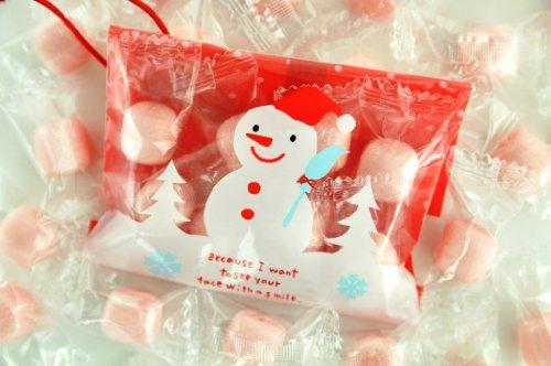 業務用 オーナメントキャンディー 苺ミルク飴 50個入り