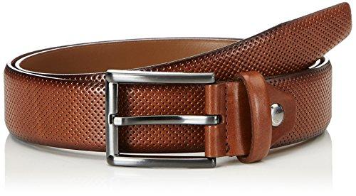 MLT Belts & Accessoires Herren Gürtel Dublin, Braun (Cognac 6700), 80